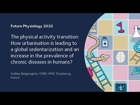 The physical activity transition