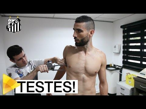 Testes marcam início de temporada do Santos FC
