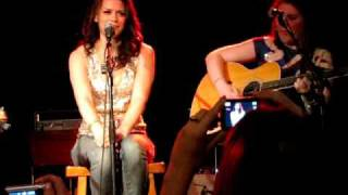 Sweetest Thing (live) by Bethany Joy Galeotti (half of Everly) at Tin Pan South, April 4th 2009
