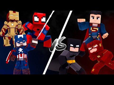 Minecraft: MARVEL VS DC ! - AVENTUREIROS Ep.40 ‹ C4IPIRAS ›