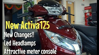 Honda Activa125 2018 Updated model- New Features|| Review|| Price|| Mileage|| Krishnadweep Honda