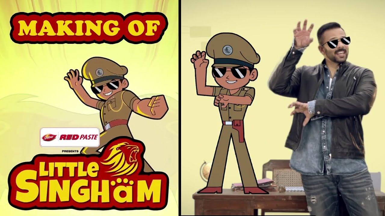 Making Of Little Singham Cartoon Series  Animfx News Updates