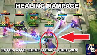 BEST HEAL STRATEGY - TOP MAGIC CHESS SYNERGY - Mobile Legends Bang Bang