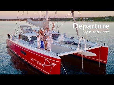 Day 1 Sailing Around The World! (Ep1)