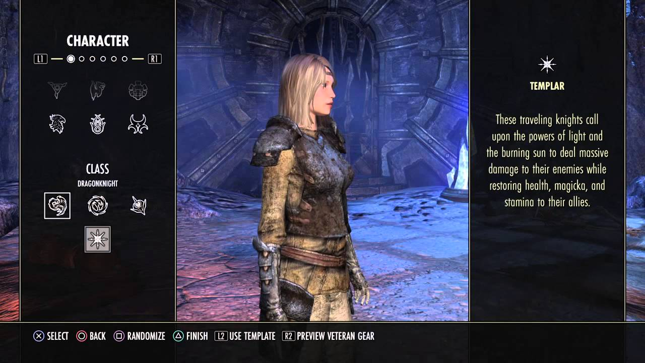 Console character creation for the elder scrolls online ps4 youtube maxwellsz