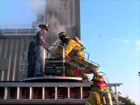 Firefighter Training Ladder Truck Rescue Youtube