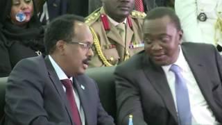 New Somali president inaugurated in Mogadishu
