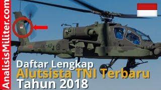 Terungkap, Inilah Daftar Alutsista TNI Terbaru 2018
