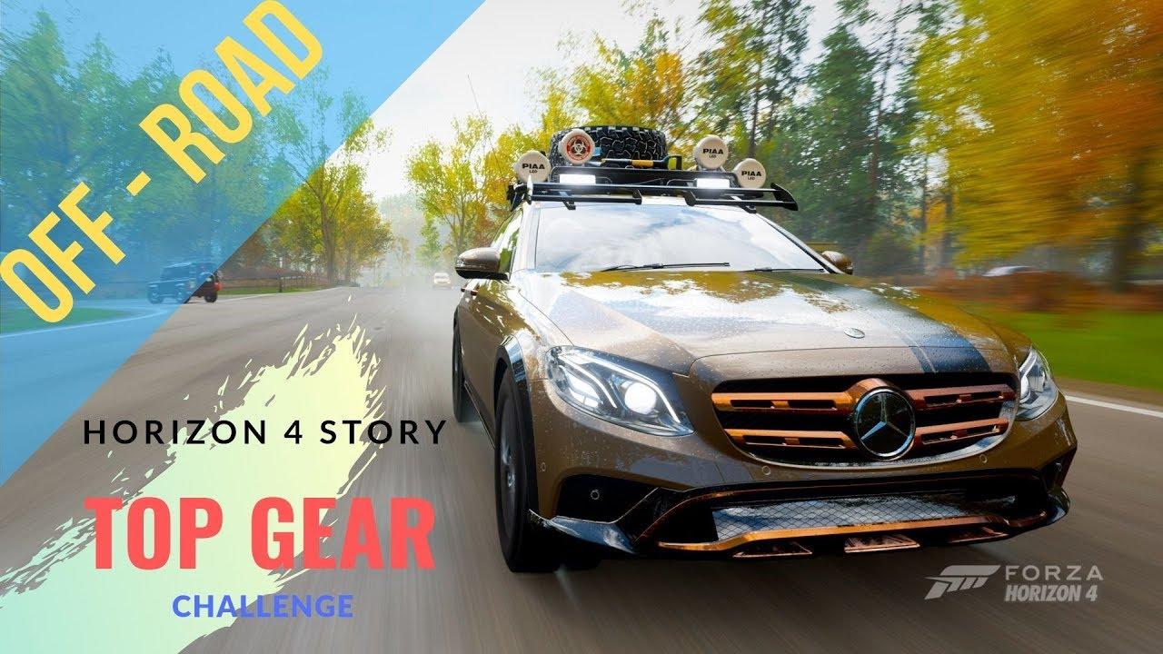Top Gear E-AT Challenge. Forza Horizon 4.