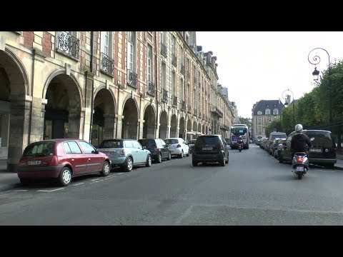 Great walk around Paris France