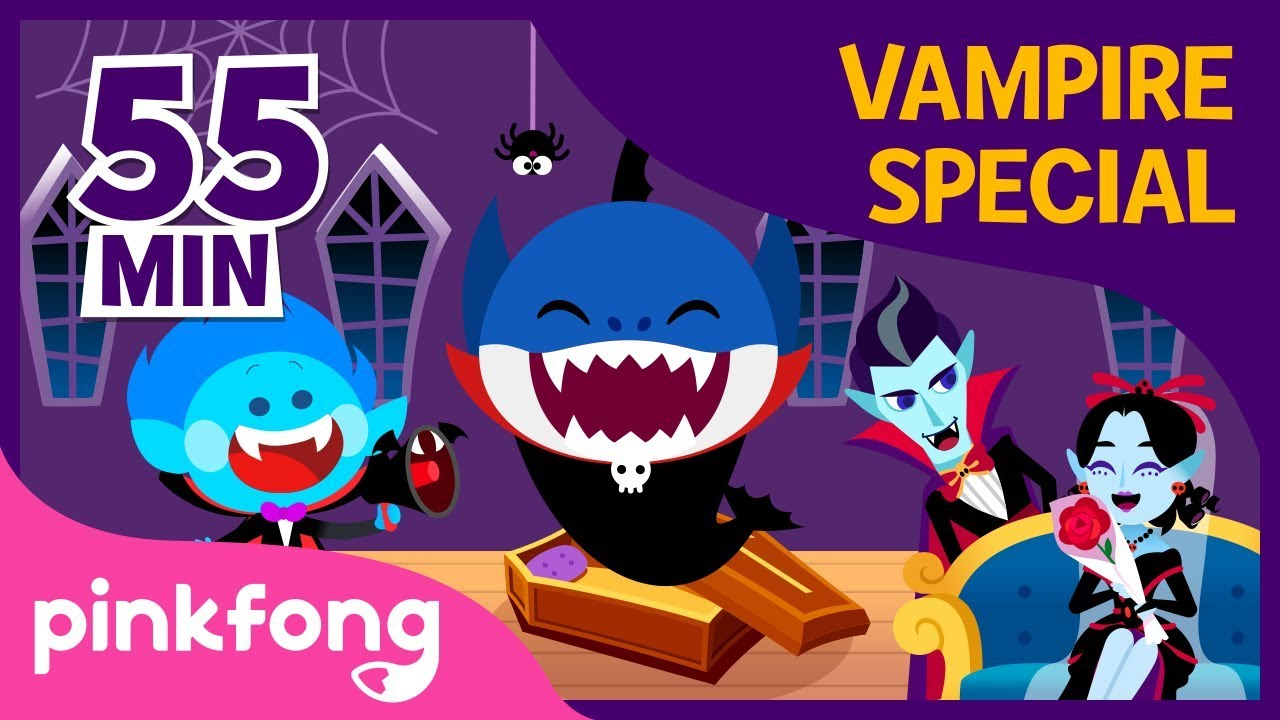 Halloween Vampire Special | +Compilation | Halloween Songs | Pinkfong Songs for Children