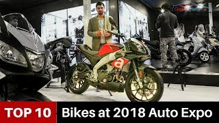 10 Best Bikes at 2018 Auto Expo in India