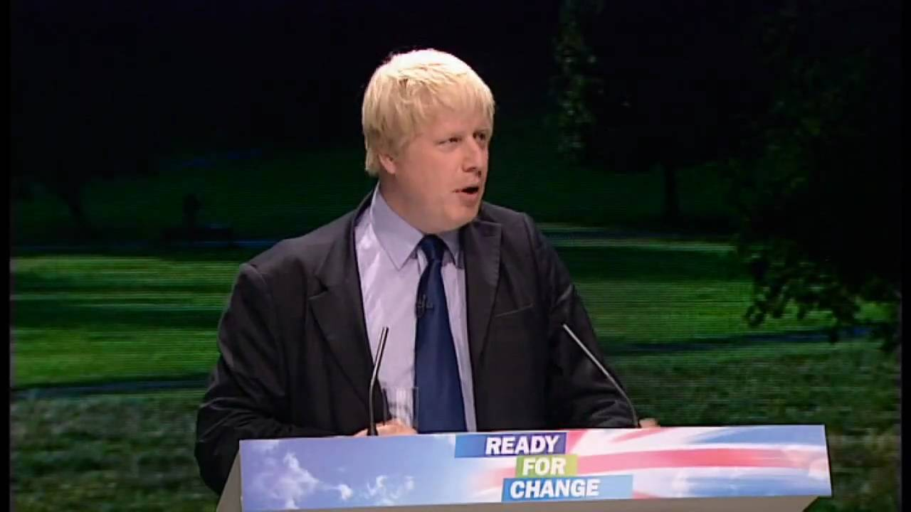 Tory Party conference: Boris Johnson's funny bits