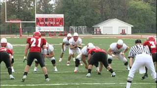 Football vs. Olivet, Sept. 18, 2010