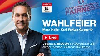 Wahlfeier der FPÖ 2017