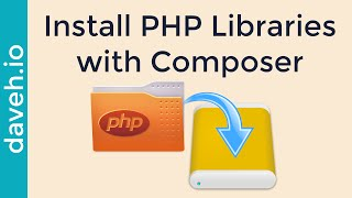 Install PHP Code Libraries Automatically with Composer