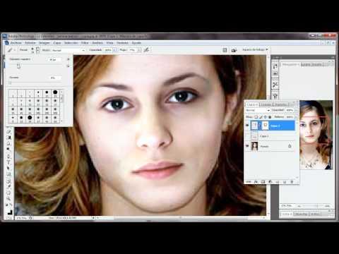 ... rostro a una persona a la perfeccion [HD] - Adobe Photoshop Cs3