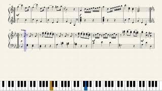 Haydn, Sonata in C Major HOB.XVI:7. [Piano Tutorial + Sheets]