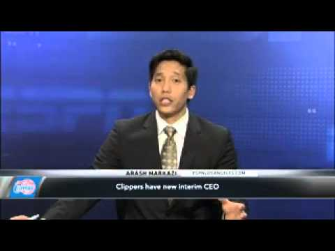 NBA Names Interim CEO For Clippers