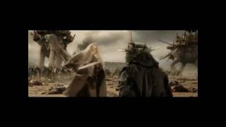 Éowyn vence al Nazgul (El señor de los anillos: el retorno del rey)