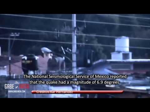 EARTHQUAKE 7.1 HIT MEXICO AND AFFECTS GUATEMALA AND EL SALVADOR