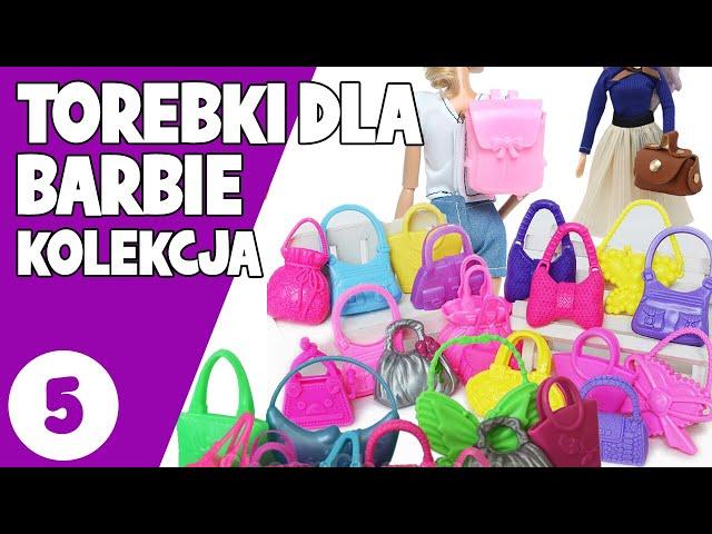 Torebki dla lalek Barbie   Ponad 60 torebek   Haul z aliexpress