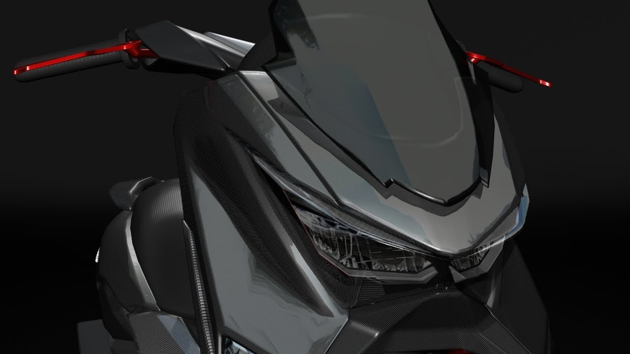 Wow Yamaha Nmax Full Carbon Modification 2020