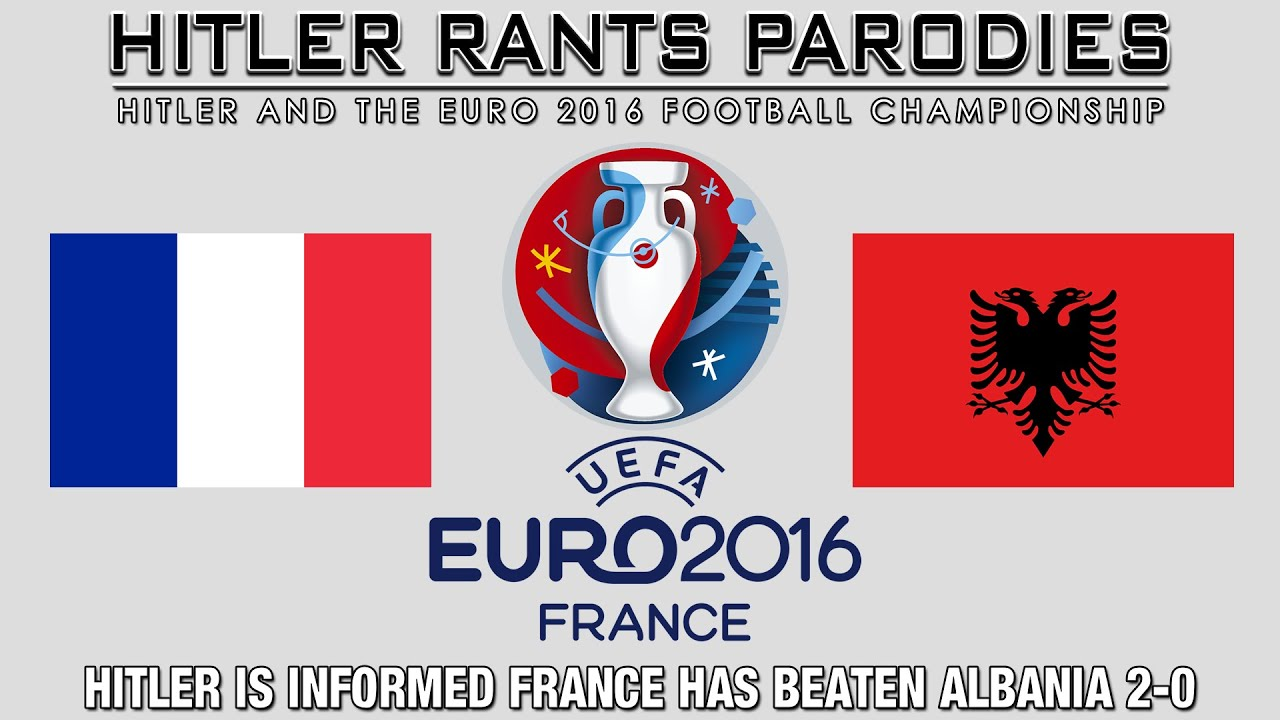 Hitler is informed France has beaten Albania 2-0