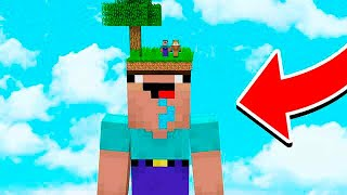 ONLY NOOBS WILL SURVIVE THIS MINECRAFT WORLD!