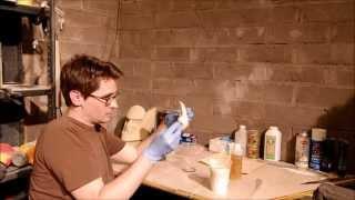 2 Part Expanding Foam & Simple Pepakura/Papercraft