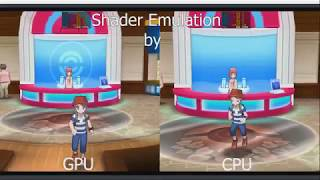 Citra New Shader Emulation Comparison (Citra Canary 408)
