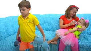 De ce Bogdan a mintit  ca este bolnav? Sketch | Video pentru copii
