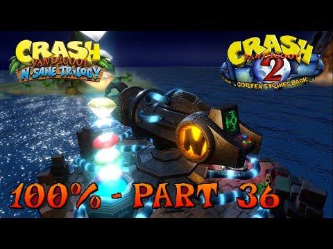 Crash Bandicoot 2 - N. Sane Trilogy - 100% Walkthrough, Part 36: Dr. Neo Cortex & Both Endings