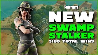 SWAMP STALKER SKIN - FORTNITE BATTLE ROYALE - USE CODE TANKSGAMINGNATION