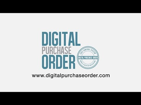 Welcome to Digital Purchase Order Software