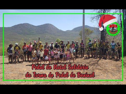 Pedal de Natal Solidário da Turma do Pedal de Boninal