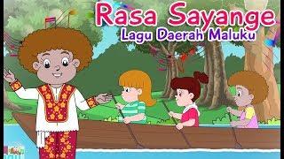 RASA SAYANGE | Diva Bernyanyi | Lagu Daerah Maluku | Lagu Anak Channel