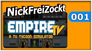 Empire TV Tycoon #001 ► Wir gründen eine TV Station ► Let's Play Empire TV Tycoon Gameplay german
