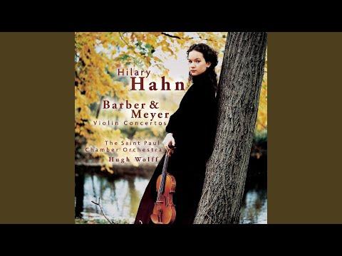 hilary hahn violin concerto op 14 2 andante