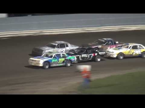 2018 Shiverfest Hobby Stock feature Lee County Speedway 10/27/18