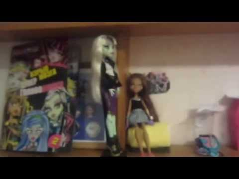 видео: Моя полка Монстр хай