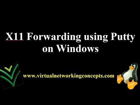 X11 Forwarding using Putty on Windows