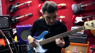 Борис Суздалев дает уроки игры на бас-гитаре. Урок №3: Смена позиций по горизонтали