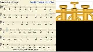 Trumpet Tutorial Le Le Li Star Music Score
