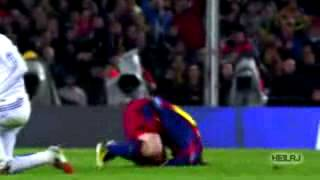 Lionel Messi humiliated and nutmegged