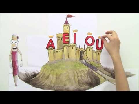 Vokale Buchstabenkönige Deutsch Grundschule Youtube