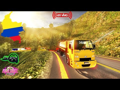 Euro Truck Simulator 2 Mapa COLOMBIA Palestina Manizales Camion--FORD CARGO [1.21] HD