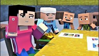 Upin & Ipin 2019   Dah Besar 4  Minecraft Animation