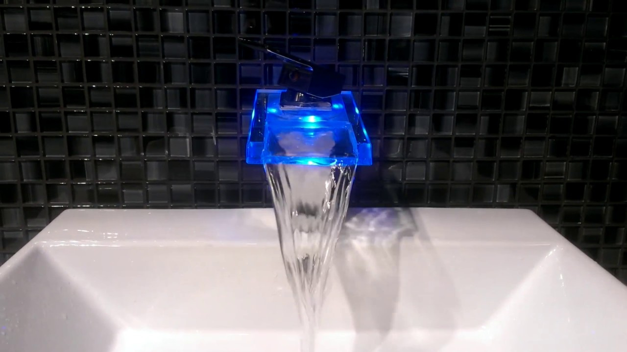 YS-8005 LED Faucet - YouTube