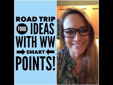 Weight Watchers (Travel Ideas with Smart Points) Facebook Live Chat: On The Road Again!